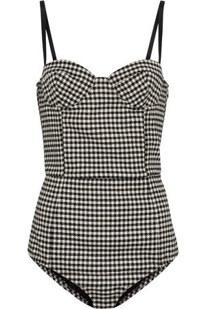 RED Valentino Gingham bodysuit