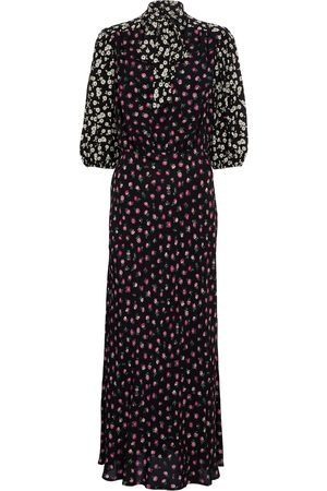RIXO London Anika floral crêpe maxi dress