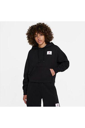 Nike Jordan Women's Flight Fleece Pullover Hoodie in / Size X-Small Cotton/Polyester/Fleece