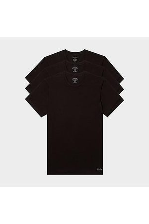 Calvin Klein Men's Classic Fit Crewneck T-Shirts (3 Pack) in / Size Small 100% Cotton/Knit