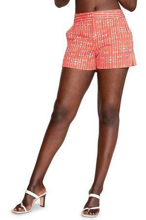 Trina Turk Women's Corbin 2 Printed Shorts - Cabana Cooler - Size 16