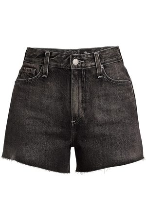 AG Jeans Women's Alexxis High-Rise Denim Shorts - Shadow - Size Denim: 30