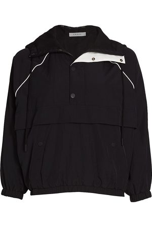 Frame Women's Recycled Nylon Anorak Jacket - Noir Multi - Size Small