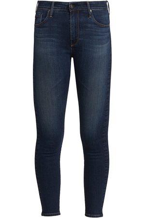 AG Jeans Women High Waisted - Women's Farah High-Rise Ankle Skinny Jeans - Statford - Size Denim: 26