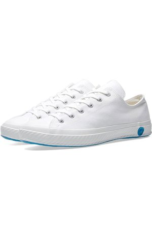 Shoes Like Pottery Handmade Japanese Low Canvas Trainer - Pure