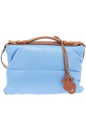 Moncler WOMEN'S 5B5000002SPM708 LIGHT OTHER MATERIALS SHOULDER BAG