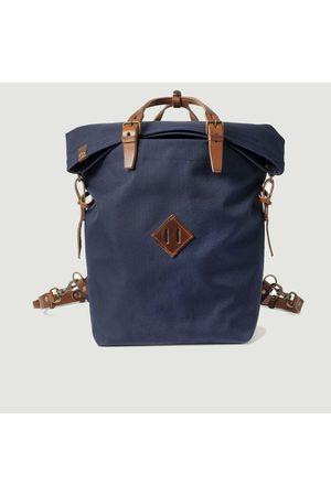 BLEU DE CHAUFFE Woody Backpack bleu caban pain brulé