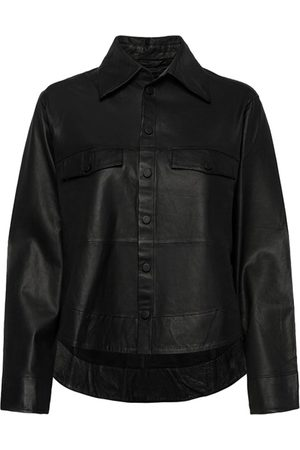 MDK / Munderingskompagniet Naomi Thin Leather Shirt