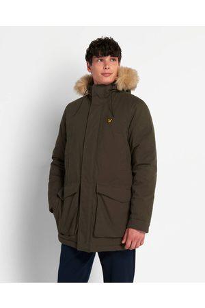 Lyle & Scott Parka Jacket With Winter Weight Microfleece Linin