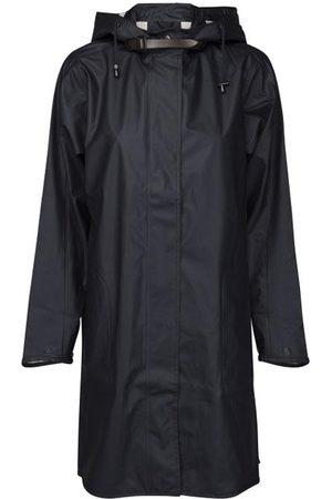 Ilse Jacobsen Hornb k A-Line Raincoat Indigo