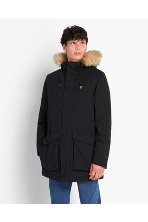 Lyle & Scott Parka Jacket With Winter Weight Microfleece Lining