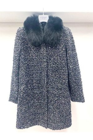 D.EXTERIOR /Multi Knitted Coat 51651