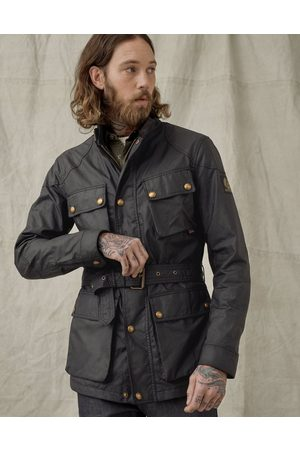 Belstaff Trialmaster Wax Belted Jacket Colour: