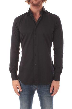 Xacus Men Shirts - MEN'S 520ACTIVE11460BLUE COTTON SHIRT