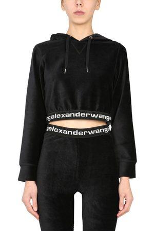 Alexander Wang WOMEN'S 4CC1211197001 OTHER MATERIALS SWEATSHIRT
