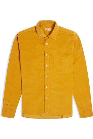 Burrows and Hare Burrows & Hare Cord Shirt - Mustard