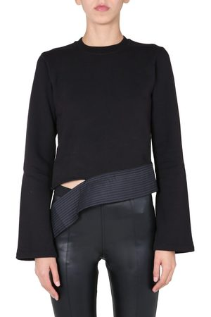 DRKSHDW BY RICK OWENS WOMEN'S DS20F1233FND09 OTHER MATERIALS SWEATSHIRT