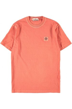 Stone Island 23757 Cotton Jersey Tee Red