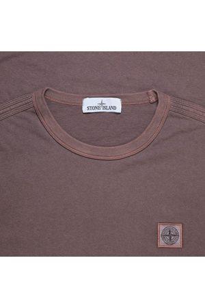 Stone Island Men Short Sleeve - 23757 Cotton Jersey Tee Mahogany