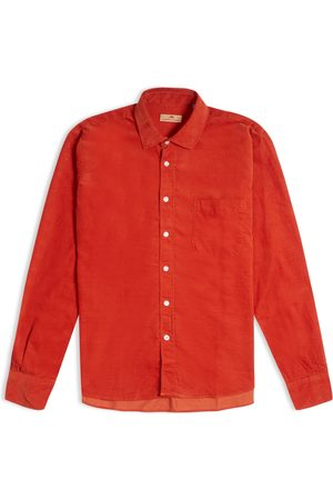 Burrows and Hare Burrows & Hare Cord Shirt - Rust