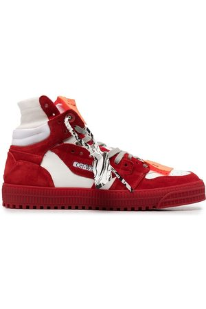 OFF-WHITE MEN'S OMIA065R21LEA0020125 LEATHER SNEAKERS