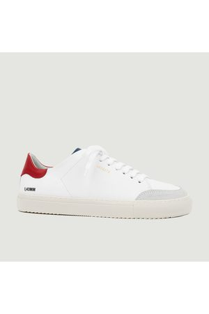 Axel Arigato Clean 90 Triple leather sneakers red blue
