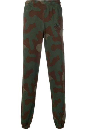 OFF-WHITE Stencil Camouflage Logo Sweatpants