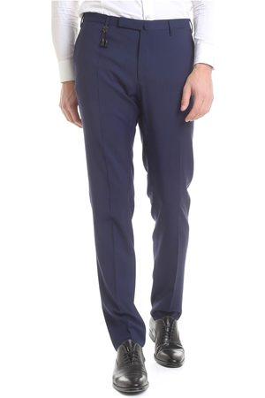 Incotex Men's Trousers 1AT0305855T 818NAVY