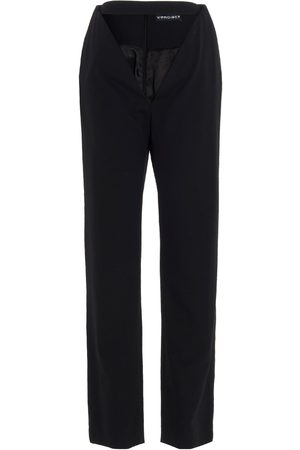 Y / PROJECT WOMEN'S WPANT60BLACK OTHER MATERIALS PANTS