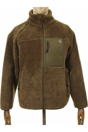 Deus Ex Machina Mackay Fleece Jacket - Dark Olive Colour: Dark Olive