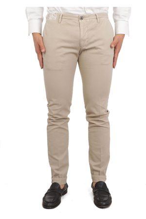 Incotex MEN'S 11S1049695S425 BEIGE COTTON PANTS