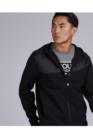 Barbour Saddle Hybrid Hoodie Colour: