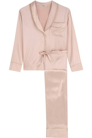 Gilda & Pearl Backstage Signature PJ Jacket and Matching Bottoms Set