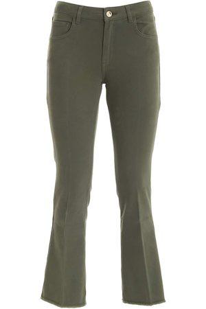 RE-HASH Women Jeans - WOMEN'S P0332402JM1305 OTHER MATERIALS PANTS