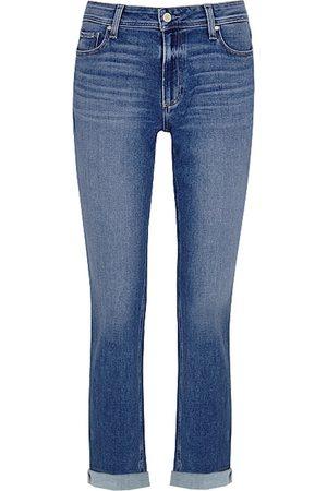 Paige Brigitte High Rise Slim Fit Boyfriend Jeans - Cabbie