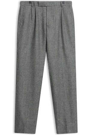 Burrows and Hare Burrows & Hare - Fox Brothers Flannel Prince of Wales Check Trousers