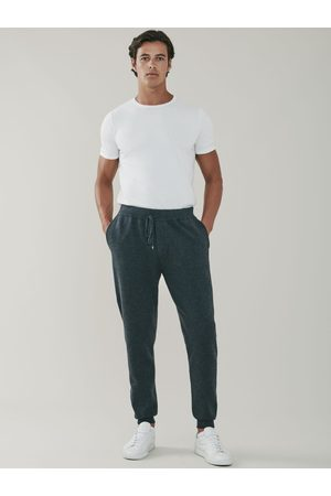 MrQuintessential Squaw Cashmere and Merino Sweatpants - Grey