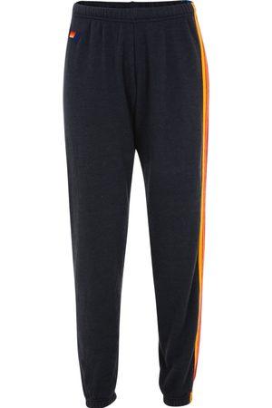 AVIATOR NATION 5 Stripe Sweatpants Charcoal