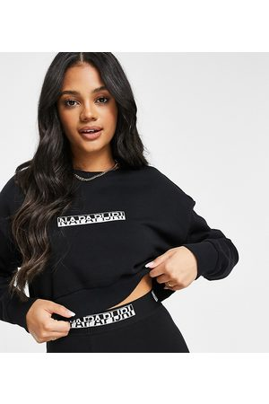 Napapijri Box cropped sweatshirt in Exclusive at ASOS