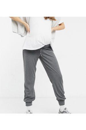 Mama Licious Mamalicious Maternity sweatpants in dark -Grey