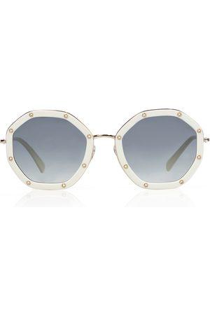 VALENTINO Hexagonal sunglasses