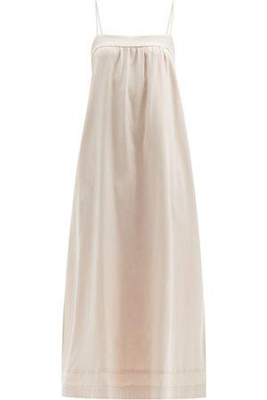 Casa Raki Vicky Tie-back Side-slit Dress - Womens