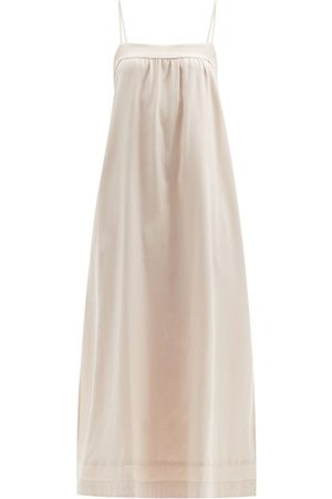 Casa Raki Women Midi Dresses - Vicky Tie-back Side-slit Dress - Womens
