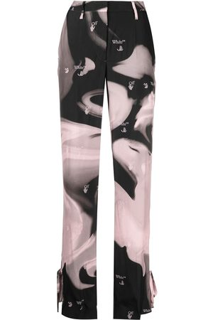 OFF-WHITE Liquid Melt tie-ankle trousers