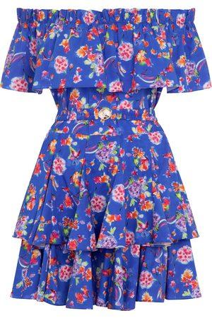 Caroline Constas Women Printed Dresses - Serena floral cotton-blend minidress