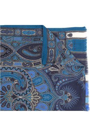 Etro Paisley print fringed scarf