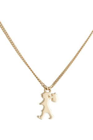 Karen Walker Mini Runaway Girl pendant necklace