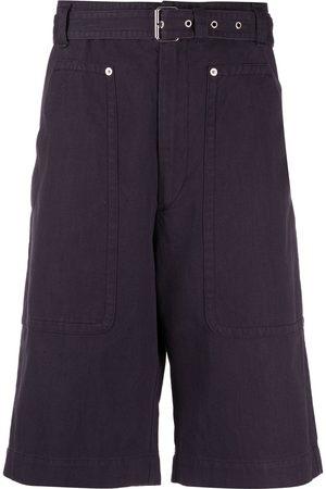 Isabel Marant Men Bermudas - Belted knee-length shorts