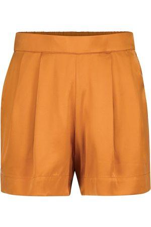 ASCENO Zurich silk shorts