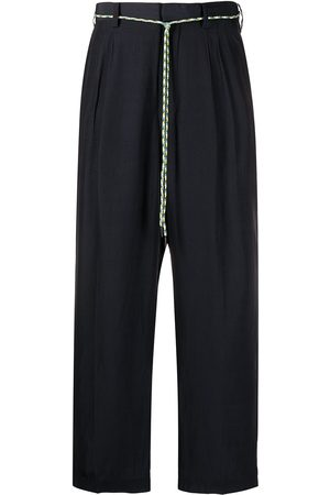 Viktor & Rolf Men Straight Leg Pants - Cord-belt trousers